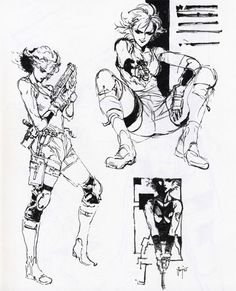 For nearly twenty years now, the Metal Gear Solid franchise has featured some of the most iconic characters and design in the business. As we say goodbye to Hideo Kojima's involvement with the series—and maybe the series itself—I figured today was a good time to look back on the best of Metal Gear's art.