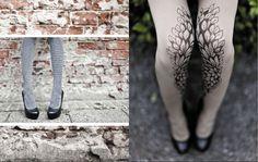 zohara - art on tights