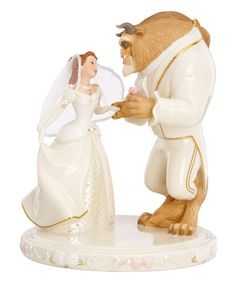 Another great find on #zulily! Belle's Wedding Dreams China & 24k Gold Figurine #zulilyfinds