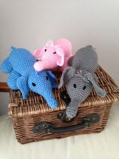 A personal favourite from my Etsy shop https://www.etsy.com/listing/219389592/handmade-elephant-toy