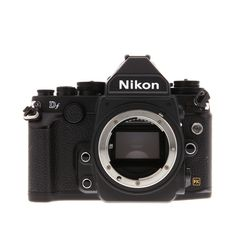 The Nikon DF has wonderful blend of classic and modern design. Equipped with the classic Nikon exterior, the features include a fast AF & hi-res LCD display. Nikon D5200, Nikon Dslr, Nikon Cameras, Canon Camera Models, Slr Camera, Camera Gear, Dslr Photography Tips, Photography Equipment, Photoshop Elements