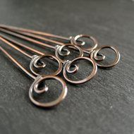Handmade Jewellery & Findings - Copper &... by Cinnamon Jewellery on Folksy