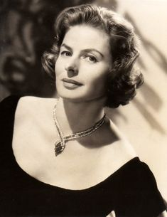 New post on allthroughthenightb Old Hollywood Movies, Vintage Hollywood, Hollywood Stars, Hollywood Actresses, Classic Hollywood, Actors & Actresses, Hollywood Divas, Ingrid Bergman, Gina Gershon