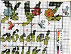 alfabeto fiori farfalle12