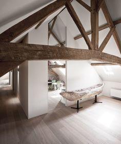 BH 07 - 03 By Pieter Vanrenterghem - interior architecture - renovation farmhouse - children's bedroom