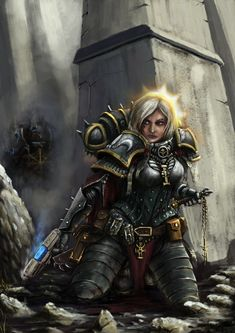 chainsword chaos grenade imperium mykmyk140 plasma_pistol sisters_of_battle space_marines