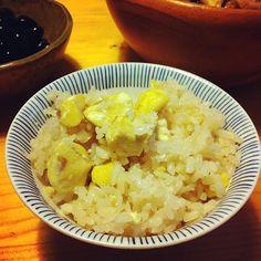 利平栗を使ったよ - 1件のもぐもぐ - 栗ご飯 by akir52