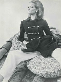 Veruschka, Vogue Italia, March 1967. Photo by Franco Rubartelli.