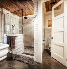 Elegant and charming bathroom remodel design ideas. Get inspired to make over your master bathroom with these modern bathroom ideas. Bathroom Renovations, Home Renovation, Home Remodeling, Remodel Bathroom, Bathroom Makeovers, Shower Remodel, Tub Remodel, Restroom Remodel, Master Bath Remodel