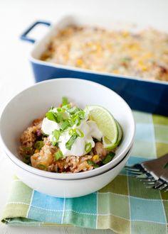 Quick Dinner Idea: Bean And Rice Casserole