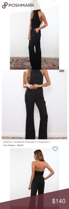 Flynn skye Ava jumpsuit It says size large but according to the website it does run small like new ! Flynn Skye Pants Jumpsuits & Rompers
