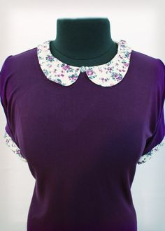 peter pan collar shirt - spring fashion, short sleeve shirt for women, extra small