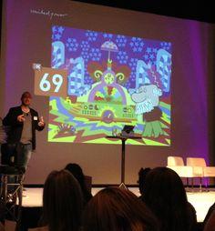 @deeped evangeliserar om sociala medier på Webbdagarna.