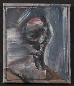 Francis Bacon, Portrait Head, 1959.