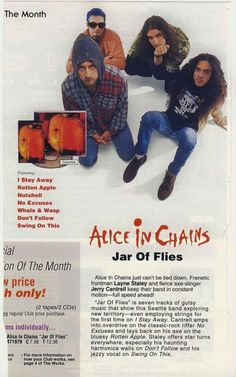 Alice in Chains' 'Jar of Flies': 5 Things You Didn't Know ...