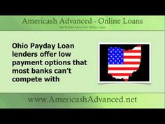 Ohio payday loans are for everyone whether you're from Ohio or not. Apply for your short-term loan at www.americashadvanced.net #ohio #cashadvance #shorttermloan http://www.youtube.com/watch?v=l7FT7OdgjVI