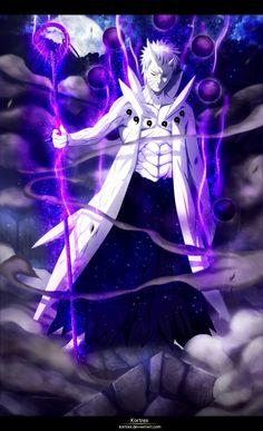 Obito Uchiha Six Paths Form ♥♥♥ Naruto Shippuden Sasuke, Madara Uchiha, Naruto Kakashi, Anime Naruto, Otaku Anime, Naruto Shippuden Figuren, Naruto Shippuden Characters, Anime Characters