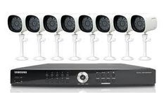 Samsung SDE4001N 8ch DVR System (Manufacturer Refurbished) 110 - 240 VOLTS SDE-4001N is a Samsung Security System with 8 channels. The security DVR is an all-included system. It includes everything you need to monitor your home. In the kit, you will find a Security DVR, 4 Samsung security cameras for outdoor use (SEB-1005R), 2 dome cameras for indoor use (SED-1001R), six 60ft of RJ-45 CAT5e cables (SEA-C200), and other necessary accessories.
