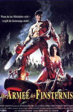 Die Armee der Finsternis - 1992 - (OT: Army of Darkness / Evil Dead 3) (German Poster)  8 / 10