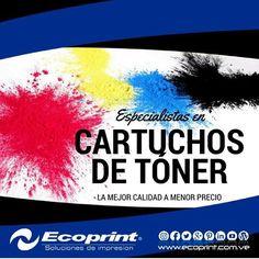 Cartuchos nuevos compatibles de láser/ tóner monocromáticos y a color #ecoprint #cartuchos #color #negro #impresora #tinta #tóner #rendimiento #imagen #calidad #economía #ecología #tecnología #compatible #genérico #impresión #venezuela  #islamargarita #islademargarita
