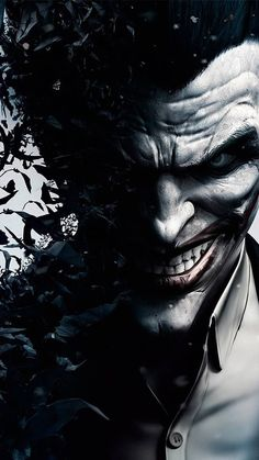 Joker Wallpaper by trenser - 49 - Free on ZEDGE™ now. Browse millions of popular batman Wallpapers and Ringtones on Zedge and personalize your phone to suit you. Browse our content now and free your phone Le Joker Batman, The Joker, Black Joker, Joker Comic, Joker Face, Joker And Harley Quinn, Batman Wallpaper Iphone, Batman Joker Wallpaper, Uhd Wallpaper