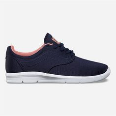 Vans Mesh Iso 1.5 Womens Shoes (3,370 PHP) ❤ liked on Polyvore featuring shoes, athletic shoes, laced up shoes, vans shoes, laced shoes, light weight shoes and low top