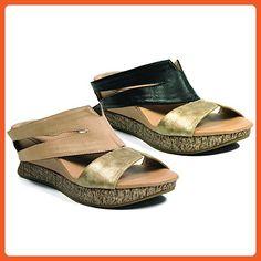 d54a36bb588 Modzori Thyra Women s Mid Wedge Reversible Twister Sandal (10 M