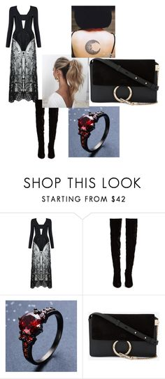 """""""Marry me"""" by lexilooloo03 on Polyvore featuring Christian Louboutin, Love Couture and Chloé"""