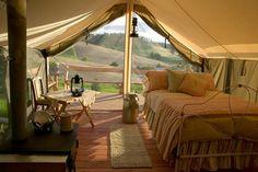 ONDE DORMIR: Glamping, acampar com glamour - MyGuide