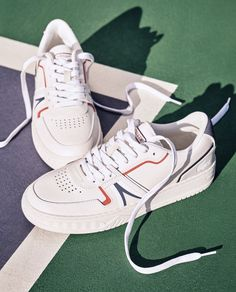 Lacoste L001 Lacoste, Dream Shoes, Casual Sneakers, Shoe Collection, Polo Shirt, Business, Model, Fashion, Casual Trainers