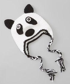 écharpe Panda Cartoon 1-5y uk vendeur Bébé unisexe fille garçon baby hat cap beanie