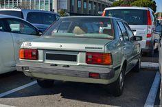 Nissan Datsun Sunny (B11) Nissan Sunny, Endangered Species, Motor Car, Mazda, Tractors, Sunnies, Automobile, 1, Racing