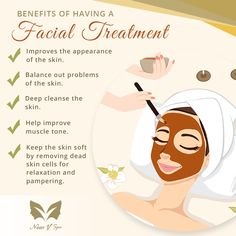 Day Spa Specials, Muscle Tone, Facial Treatment, Facials, Spa Day, Your Skin, Infographics, Gain, Benefit