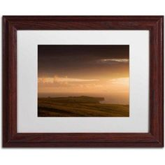 Trademark Fine Art Floodland Canvas Art by Philippe Sainte-Laudy, White Matte, Wood Frame, Size: 11 x 14