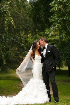 Fashion Designer Rachel Gilbert & Tom Williams wedding.