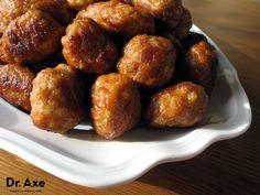 Baked meatballs recipe - Dr. Axe