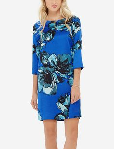 Floral Print Shift Dress | Women's Dresses | THE LIMITED