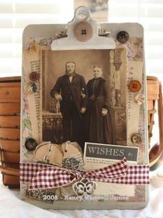 Wishes Altered Clipboard by Sugar Lump Studios, via Flickr
