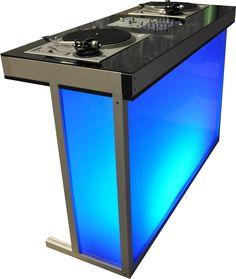 DJ Booth acrylic