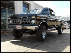 1976 Ford F250 4x4 Highboy Pickup 360 CI, Automatic  #Mecum #Chicago