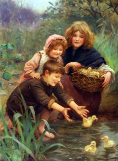 by Arthur John Elsley  (1860-1952)