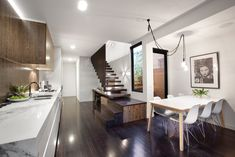 North Fitzroy Interior by Chamberlain Architects