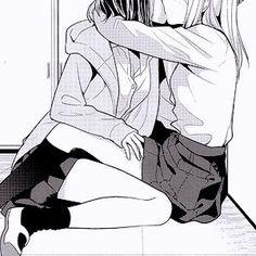 Anime Girlxgirl, Yuri Anime, Anime Love, Kawaii Anime, Anime Art, Couple Manga, Anime Couples Manga, Lesbian Art, Anime Lindo