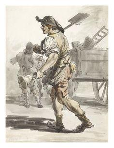 Coalman: 1759  Paul Sandby  © Museum of London