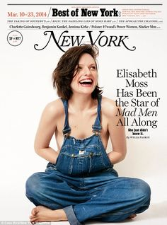 Baring all: In the new issue of New York magazine Elisabeth Moss called her brief marriage to Fred Armisen 'traumatic' and says they should ...