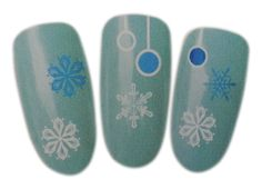 Winter Snowflakes Design Nail Art Wrap Water Transfer Decal Sticker for Natural/False Nails -- This is an Amazon Affiliate link. You can get additional details at the image link.