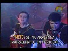 """""""Oda ó Futbolín"""", dos Diplomáticos de Monte Alto. Rock Bravú."""