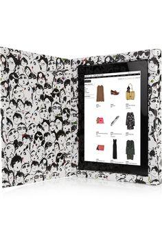 Lanvin iPad Case. It's so pretty!