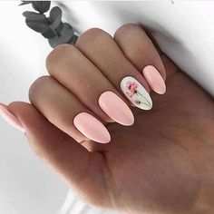 Semi-permanent varnish, false nails, patches: which manicure to choose? - My Nails Cute Acrylic Nails, Cute Nails, Pretty Nails, Spring Nails, Summer Nails, Hair And Nails, My Nails, Manicure E Pedicure, Nail Swag