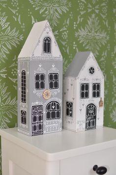 Christmas Village Display, Diy Christmas Ornaments, Christmas Home, Holiday Crafts, Christmas Decorations, Holiday Decor, Wooden Art, Wooden Crafts, Diy Crafts